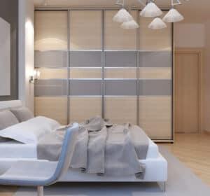 Indretning af mandens soveværelse